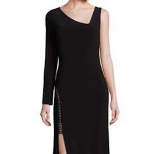 Laundry by Shelli Segal Jersey Asymmetrical Gown
